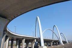 Puente moderno Imagen de archivo