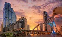Puente moderno Foto de archivo