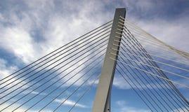 Puente moderno imágenes de archivo libres de regalías