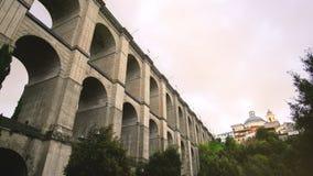 Puente monumental de la provincia de Ariccia - de Roma en Lazio - Italia metrajes