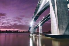 Puente Motorway de la entrada Fotos de archivo libres de regalías
