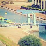 Puente movible Fotos de archivo