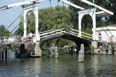 Puente movible Fotografía de archivo libre de regalías
