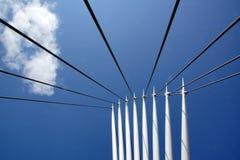 Puente, muelles de Salford Foto de archivo libre de regalías