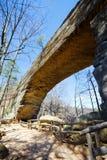 Puente natural fotos de archivo