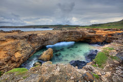 Puente natural imagen de archivo libre de regalías