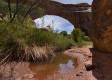 Puente natural Imagen de archivo