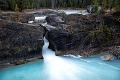 Puente natural Imagenes de archivo