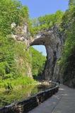 Puente natural Fotos de archivo libres de regalías