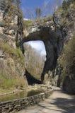 Puente natural, Virginia Imagenes de archivo