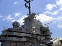 Puente naval del portador Fotografía de archivo libre de regalías
