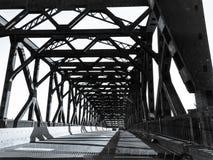 Puente New Jersey de Pulaski Skyway Fotografía de archivo