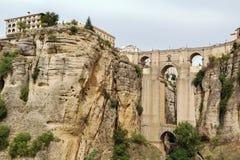 Puente Nuevo (νέα γέφυρα), Ronda, Ισπανία Στοκ Εικόνα