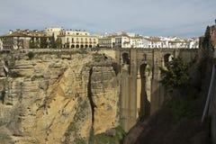 The Puente Nuevo bridge in Ronda Stock Images