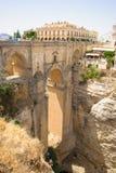 The Puente Nuevo bridge in Ronda Royalty Free Stock Photos