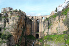 Puente Nuevo bridge, in Ronda, Spain Stock Photo