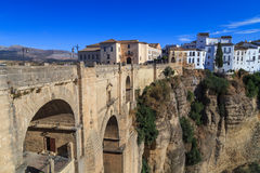 Puente Nuevo bridge in Ronda, Spain Royalty Free Stock Image