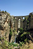Puente Nuevo bridge in Ronda, Spain Royalty Free Stock Photography