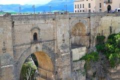 puente Nuevo bridge in Ronda, Spain Royalty Free Stock Photography