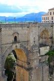 Puente Nuevo bro i Ronda, Spanien Royaltyfri Fotografi