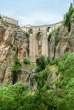 Puente Nuevo bro, Ronda, Spanien Royaltyfri Fotografi