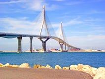 Puente nuevo De Cà ¡ diz kapitał, España Zdjęcia Stock