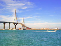 Puente nuevo de Cádiz capital, España Stock Photo