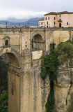 Puente Nuevo (den nya bron), Ronda, Spanien Arkivfoto
