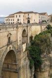 Puente Nuevo (den nya bron), Ronda, Spanien Arkivfoton