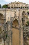 Puente Nuevo (neue Brücke), Ronda, Spanien Lizenzfreie Stockbilder