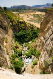 Puente Nuevo (New Bridge) in Ronda, Spain Royalty Free Stock Photography