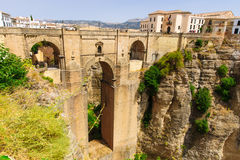 The Puente Nuevo bridge in Ronda Stock Photos