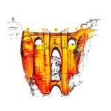 Puente Nuevo, Nowy most w Ronda, Hiszpania Zdjęcie Royalty Free
