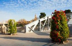 Puente Nuevo over Segura. Murcia, Spain Stock Photos
