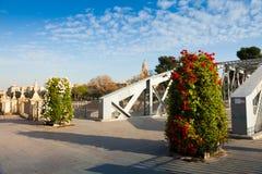 Puente Nuevo over Segura. Murcia, Spain Stock Images