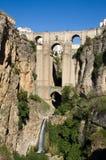 Puente Nuevo at Ronda. Granada, Spain stock photo