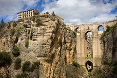 Puente Nuevo in Ronda Royalty Free Stock Photography