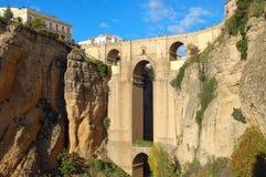 Puente Nuevo - Ronda Imagen de archivo libre de regalías