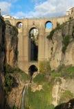 Puente Nuevo - Ronda Foto de archivo libre de regalías