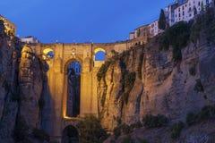 Puente Nuevo in Ronda. Ronda, Andalusia, Spain stock image