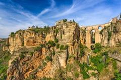 Puente Nuevo in Ronda Spain Stock Photos