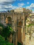 Puente Nuevo, Ronda, Spanien Royaltyfri Bild