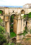 The Puente Nuvo from Ronda Royalty Free Stock Photos
