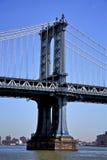 Puente NYC de Manhattan Imágenes de archivo libres de regalías