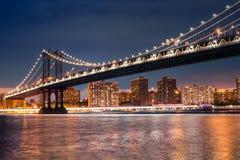 Puente NYC de Manhattan Imagenes de archivo