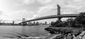 Puente NYC de Manhattan Foto de archivo libre de regalías