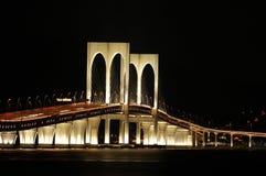 Puente pálido de Sai, Macau Imágenes de archivo libres de regalías