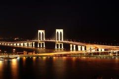Puente pálido de Sai, Macau Fotos de archivo libres de regalías
