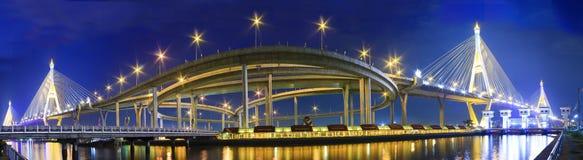 Puente, panorama. Fotografía de archivo libre de regalías