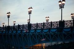 Puente patriarcal en Moscú Foto de archivo libre de regalías